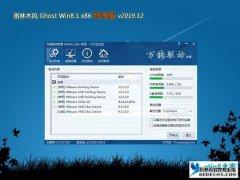 雨林木风 Ghost windows8 32位纯净版 v2020.04